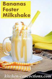 Banana foster, Milkshakes and Bananas on Pinterest