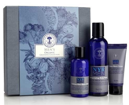 Neal's Yard Men´s Organic Grooming Collection #finamig