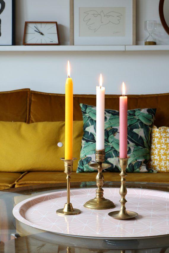 MY ATTIC SHOP / vintage gouden kandelaars / candle holder Photography: Marij Hessel www.entermyattic.com
