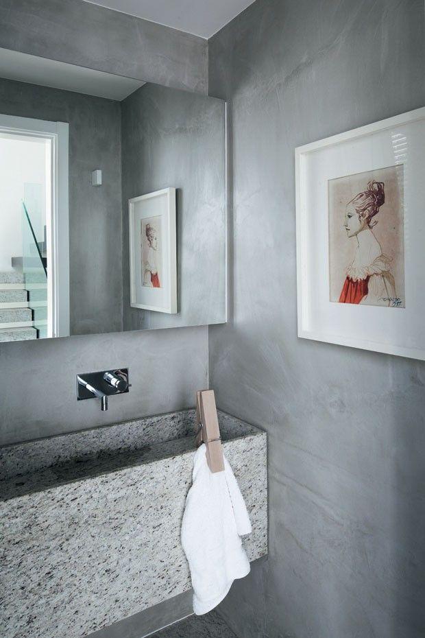 O Cristo e o Pão de Açúcar na janela / Gisele Taranto @GT_Arquitetura #lavabo