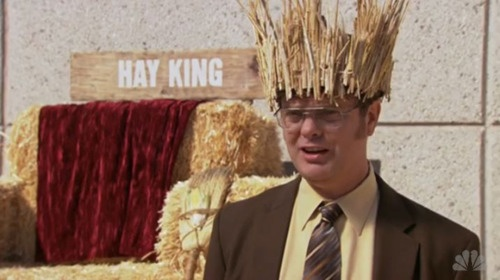 Dwight: The Hay King