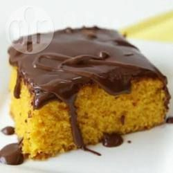 Brazilian carrot cake with chocolate icing - Try this top-reviewed recipe, complete with a video to show you how easy it is to make!