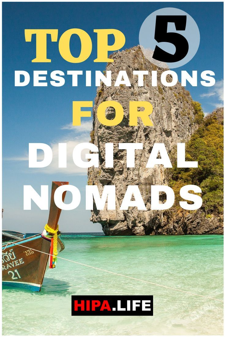Top 5 Travel Destinations For Digital Nomads | WANDERLUST