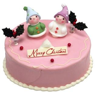 Cute Paris Baguette Christmas Cake