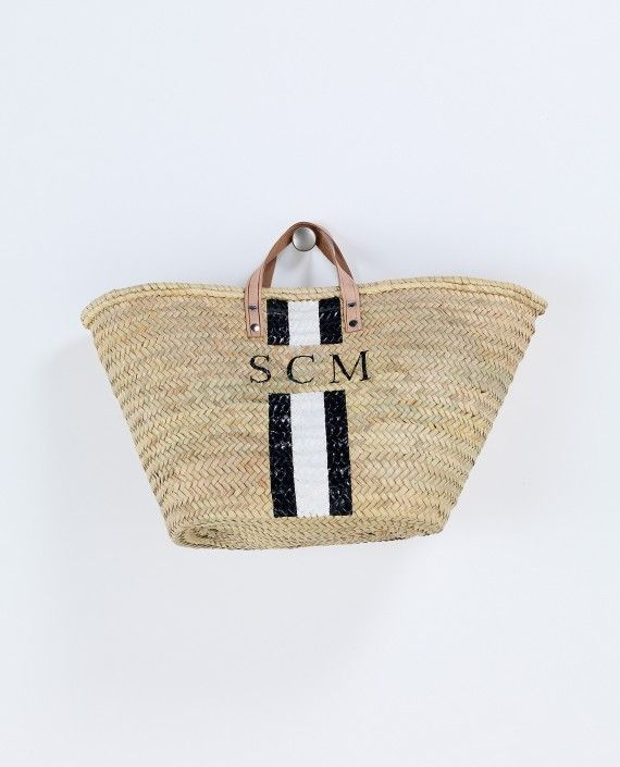 Monogram Basket