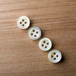 14mm Mother of Pearl Buttons