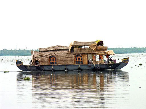 Kerala tourism; A cruise in houseboats during holidays
