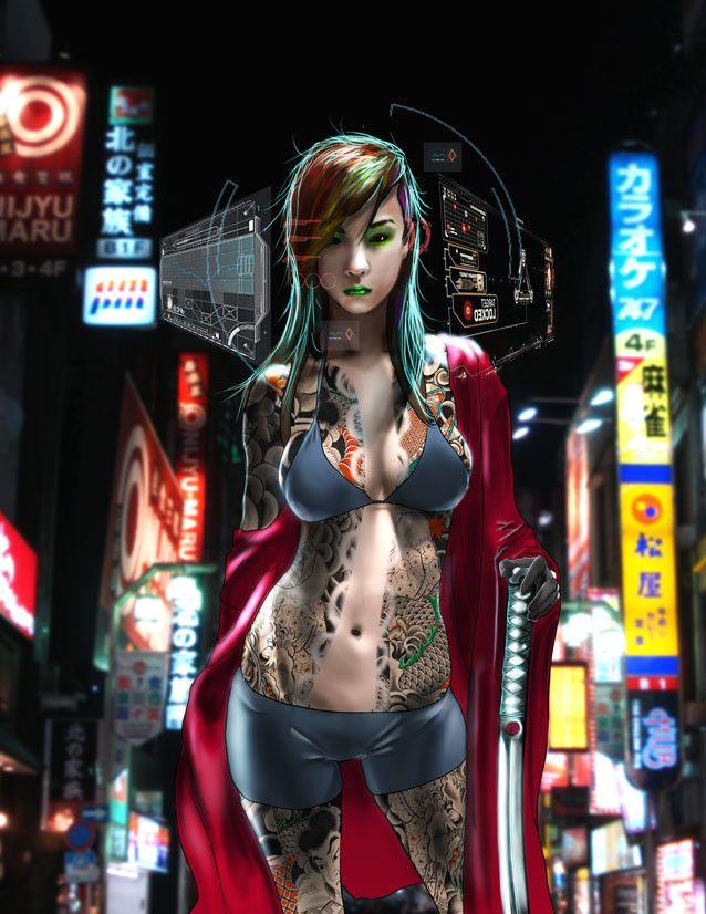 ArtStation - Misaki, Renzo Zanin