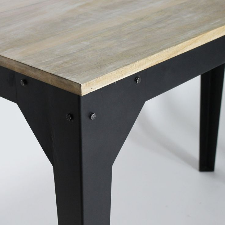 Les 25 meilleures id es de la cat gorie table haute for Table haute industrielle