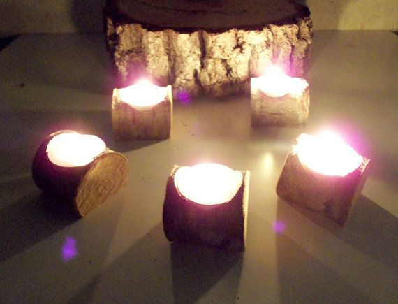 New  Tree Branch Candle Holders   Set of 100  by forestinspiration, $178.00