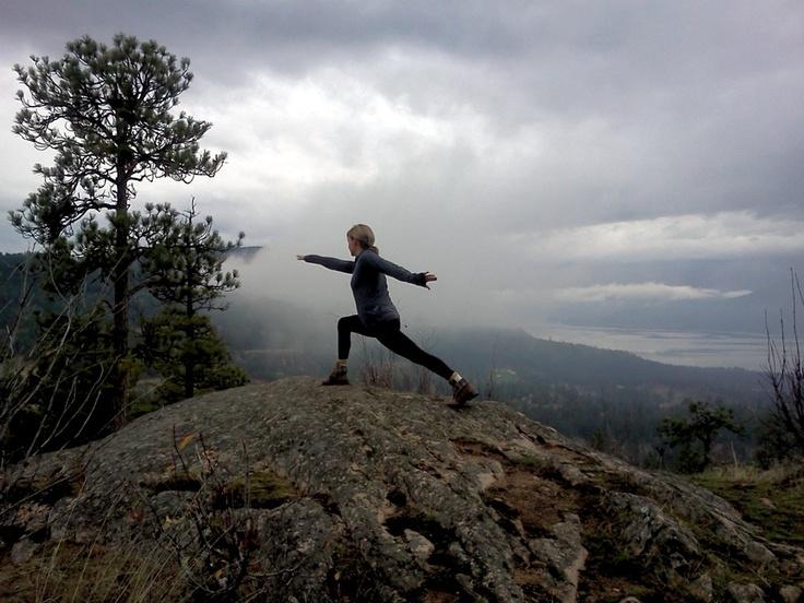 A great pic taken our 2012 fall #yoga retreat here at Predator Ridge... Stunning!! #warriorII