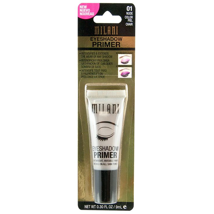 A lightweight invisible finish works on all skin tones. The primer helps provide a seamless canvas for eyeshadow application and minimizes creasing throughout the day. Makes any cream or powder eyesha