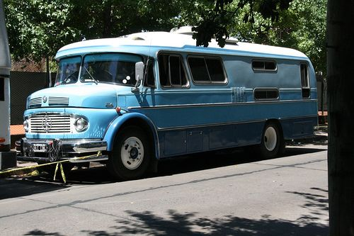 Super-mod mid-century Mercedes RV by margaretgouldstewart, via Flickr