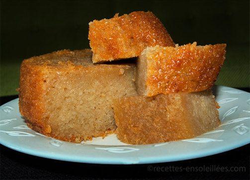 Recettes-Ensoleillees » Gâteau de manioc au lait de coco