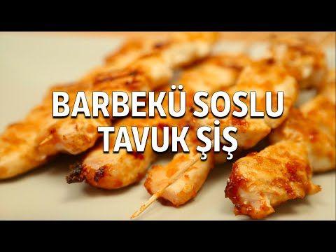 Barbekü Soslu Tavuk Şiş Tarifi - YouTube