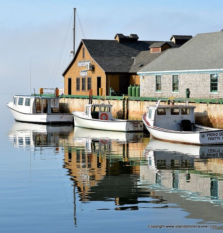 Fishing Boats In Victoria Harbour, PEI
