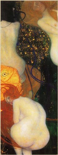 Pesce rosso - 1901-1902 - Klimt Gustav - Opere d'Arte su Tela - Listino prodotti - Digitalpix - Canvas - Art - Artist - Painting