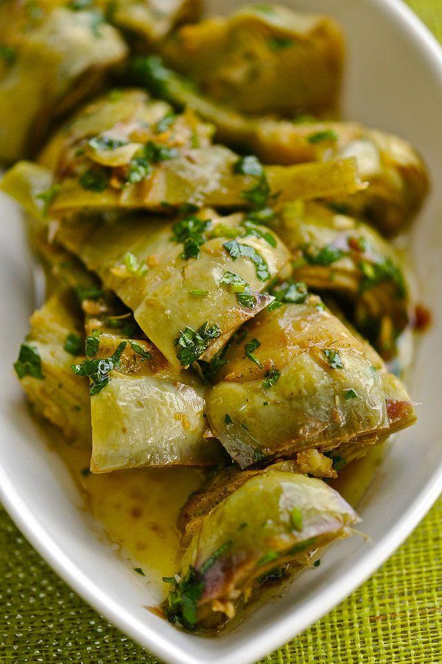 Артишоки маринованные салат