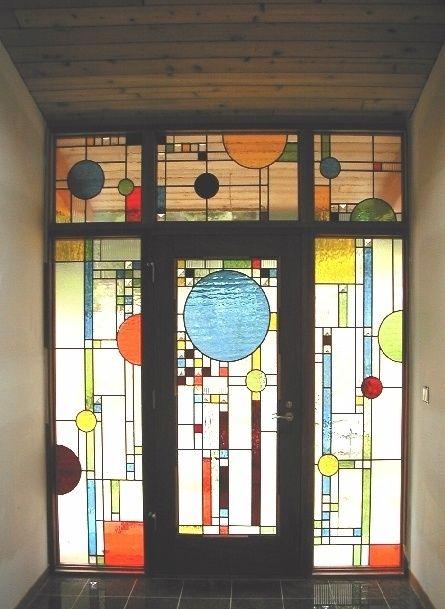 Avery Coonley Estate. Prairie Style, Frank Lloyd Wright. Riverside, Illinois. 1907-8 (Playhouse 1912)