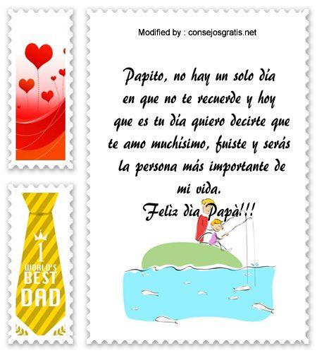 descargar mensajes bonitos para el dia del Padre,mensajes de texto para el dia del Padre: http://www.consejosgratis.net/pensamientos-para-padres-fallecidos/