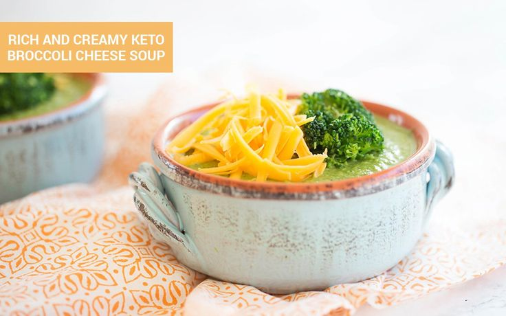 The most delicious nutrient boosted version of a classic soup, this keto broccoli cheese soup is loaded with vitamins, minerals, and antioxidants.