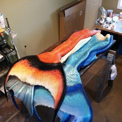 FlipTails - Custom Mermaid Tails by Mike Van Daal
