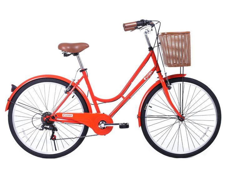 Classic Mujer Rojo, está lista para acompañarte. Ingresa a gamabikes.com y mira nuestra #NuevaTemporadaGama