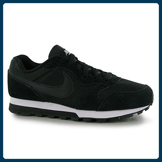Nike MD Runner turnschuhe Damen schwarz/weiß Casual Fashion Sneakers Schuhe,  schwarz / weiß