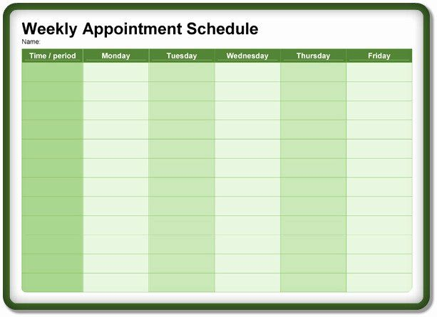 Daily Appointment Calendar Printable Free Printable Online Calendar Daily Calendar Template Appointment Calendar Appointment Planner