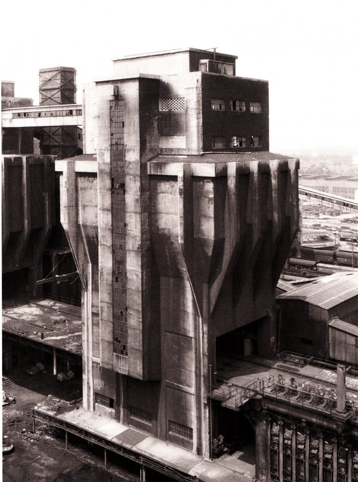Bernd and Hilla Becher - Coal Bunker (1973)