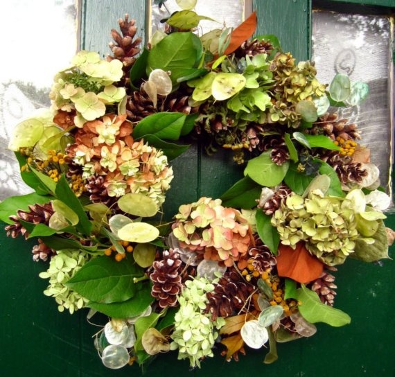 Best dried hydrangea arrangements images on pinterest