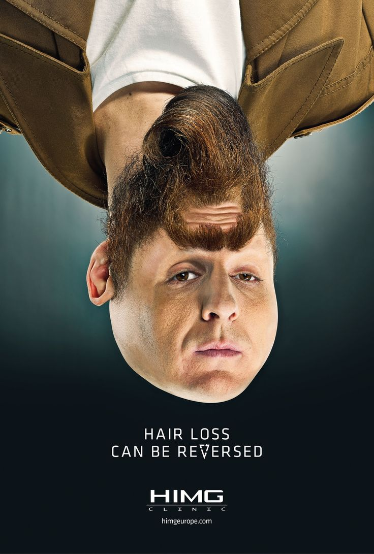 Hair loss can be reversed. - HIMG Clinic: Faces