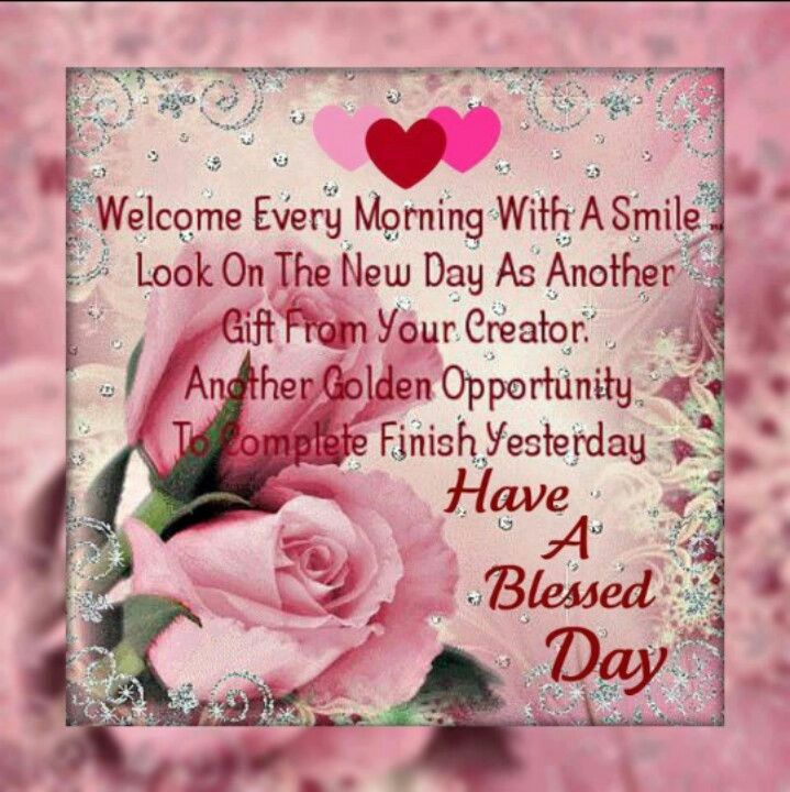 Good Night Peeps Quotes: A Blessed Day