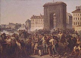 Cours à l'université FU JEN: avril 2010 - Le combat de la porte Saint-Denis en 1830.