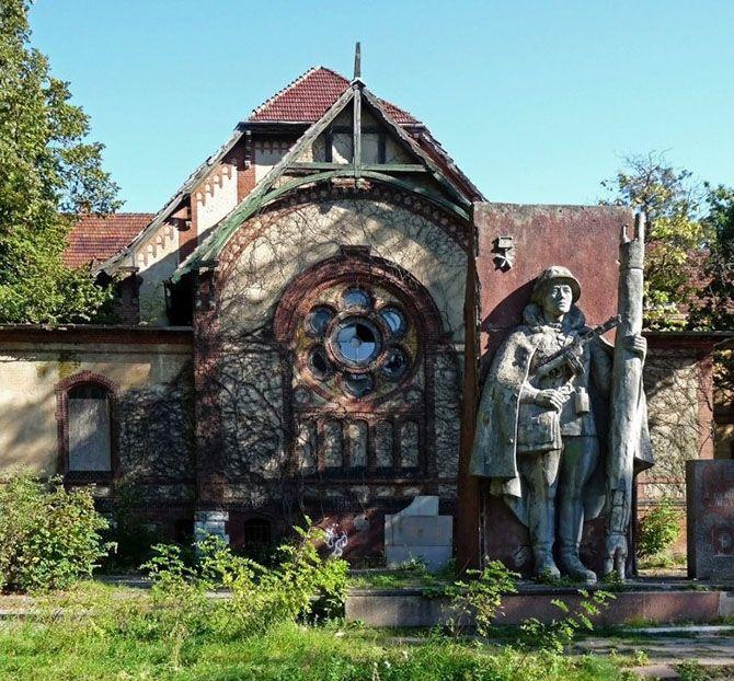 Санаторий Белиц-Хайльштеттен, в котором лечился Гитлер