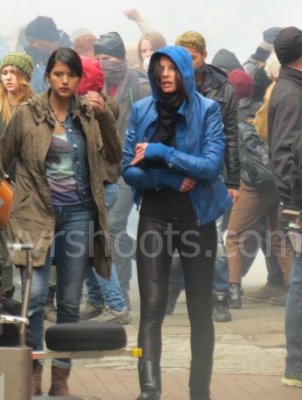Shoot Rachel Nichols 250 Protesterpolice Extras Film Continuum