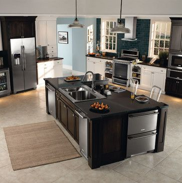 Electrolux Inspiration - contemporary - Kitchen - Other Metro - Electrolux US - all those appliances, drooling....