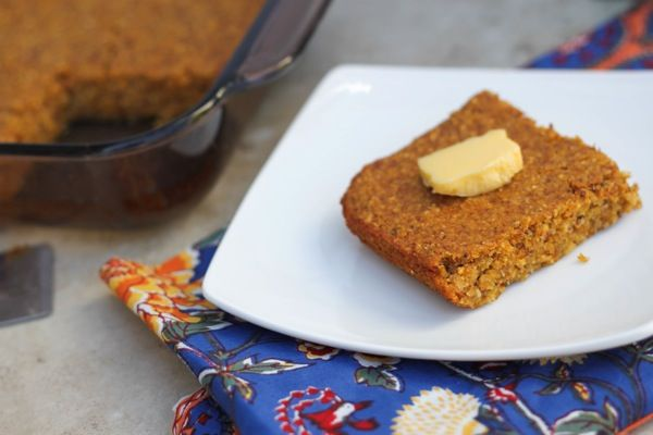 "Vegan and gluten-free pumpkin cornbread. The ""make with everything ..."