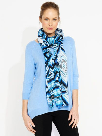 China Blue scarf $9.95
