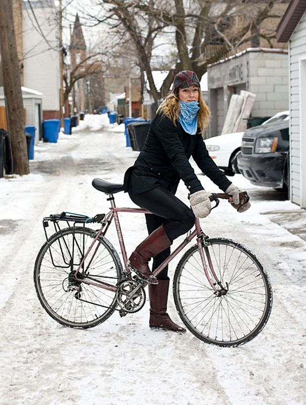 Winter Bike Style - Cycle Chic