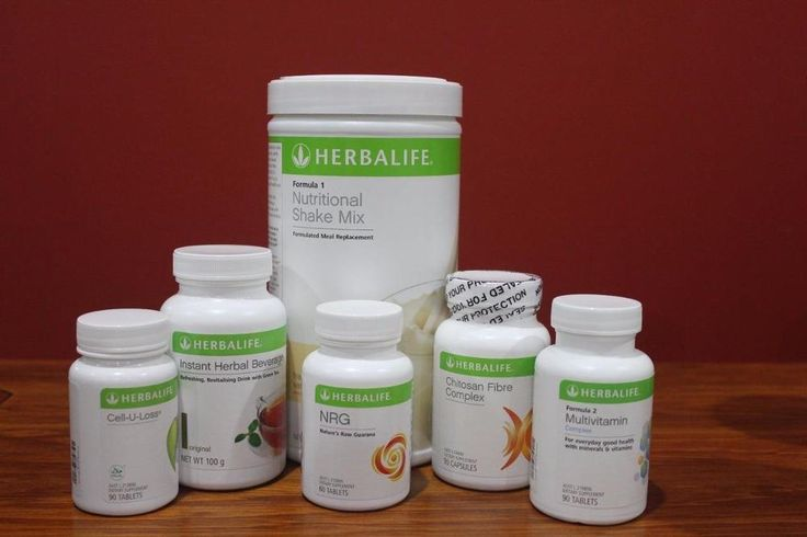 Herbalife Advanced Programme Vanilla, Chocolate Berry or Cookies & Cream