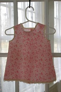 During Quiet Time: Pintuck Perfection Baby Dress Tutorial