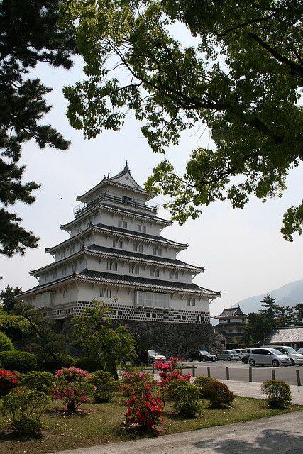 Shimabara Castle in Nagasaki Prefecture, Japan (by perkunas)