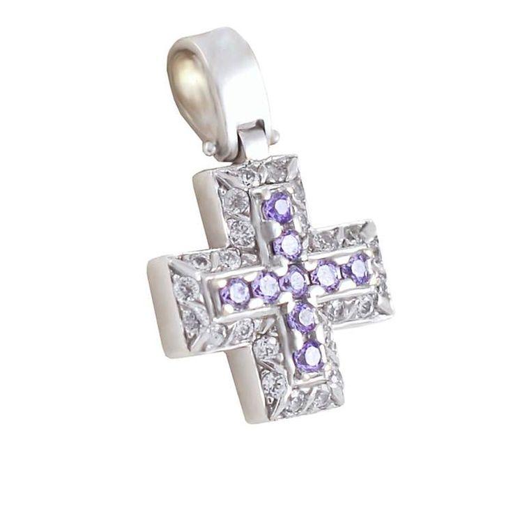 ΣΤ44Τ -Λευκόχρυσος σταυρός