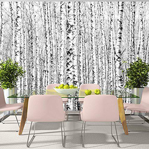 17 meilleures id es propos de papier peint bouleau sur pinterest peinture de d tresse. Black Bedroom Furniture Sets. Home Design Ideas