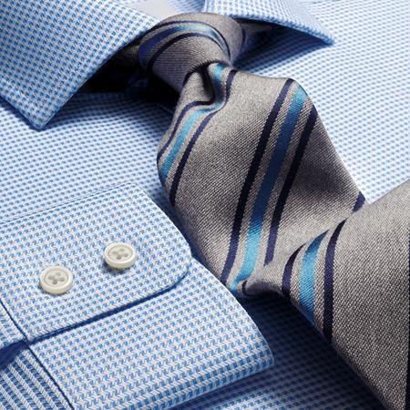 Sky Star weave cutaway Slim fit shirt