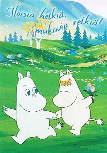 Amor, educación y respeto a los semejantes, son algunos de los valores que promueven los personajes Moomin, historietas creadas por los finlandeses Tove y Lars Jansson.