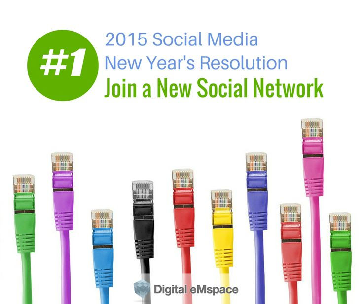 Have you been swamped like we have? Trying to catch up on what you've missed, get back on track? Maybe you haven't given your business goals for 2015 a thought yet. In the coming weeks we will provide 5 new years resolutions you should consider for your social media strategy in 2015. The first: Joining a New Social Network. There are a few cautions before signing up, though.