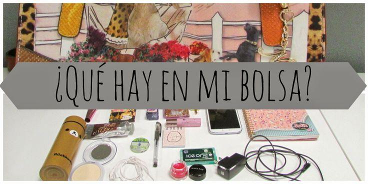 ♡ Dentro de mi bolsa #bag #esentials #insidebag