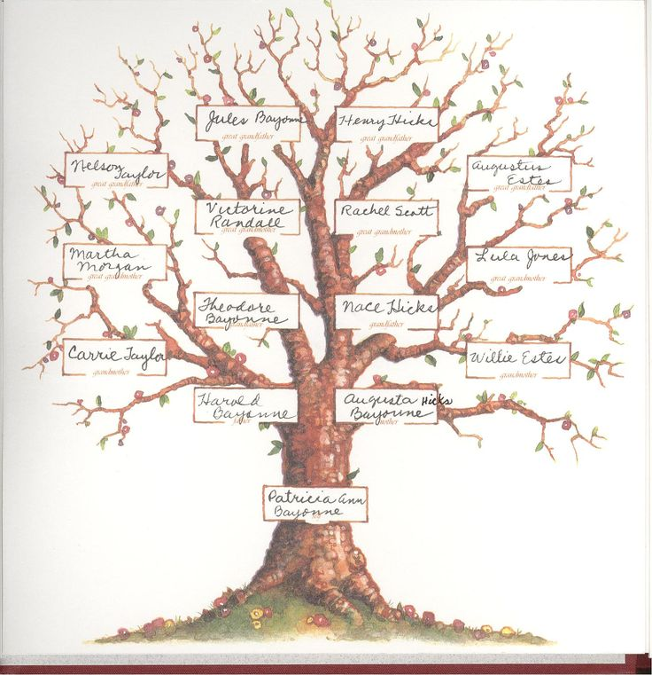 10 Best Family Trees Images On Pinterest | Family Tree Templates
